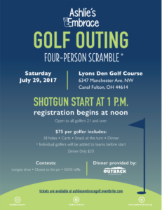 Ashlie's Embrace Golf Outing